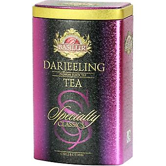 Basilur Tea Darjeeling Black Loose Tea In Tin Caddy 100G