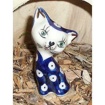 Cat, 8.5 cm - tradition 5 - polish pottery - BSN 5710
