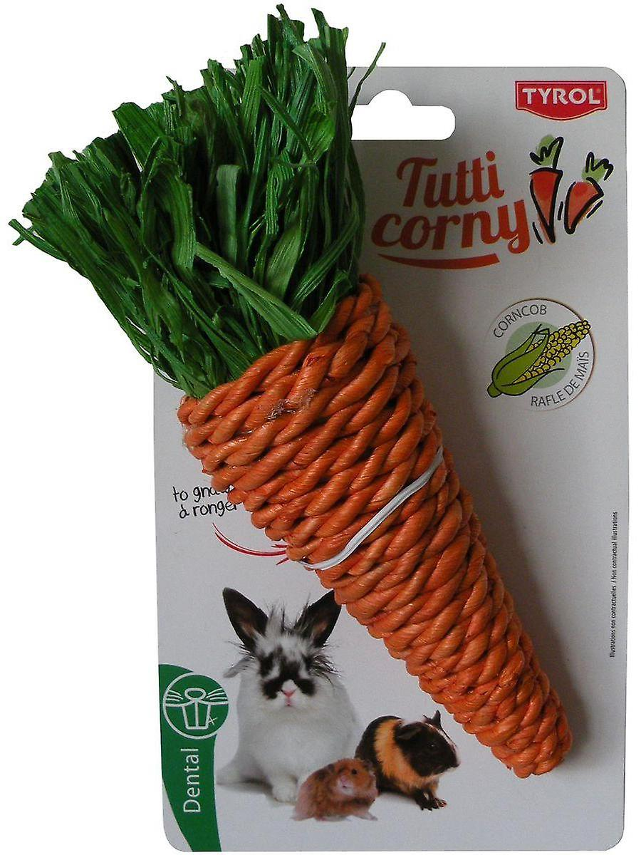 Tyrol Maxi Carrot To Gnaw Tutti Corny (Roedores , Brinquedos)