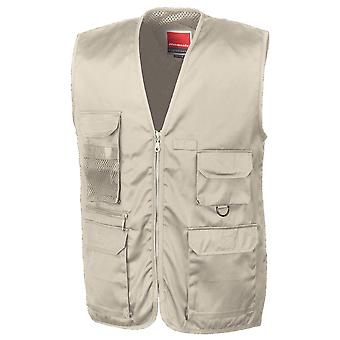 Resultaat Mens Adventure Safari jacht visserij Gilet gilet Bodywarmer