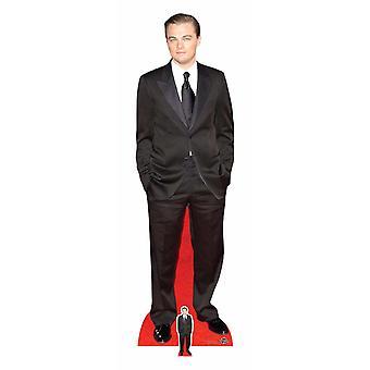 Leonardo DiCaprio Black Suit Lifesize Cardboard Cutout / Standee / Standup
