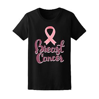 Breast Cancer Pink Ribbon Fight Tee Women's -Image by Shutterstock