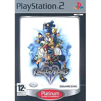 Kingdom Hearts II Platinum (PS2)