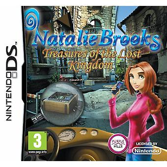 Natalie Brooks - The Treasures of the Lost Kingdom (Nintendo DS) - Factory Sealed
