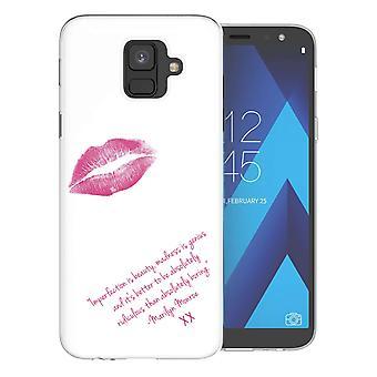 Samsung A6 (2018) Marilyn Monroe Quote TPU Gel Case