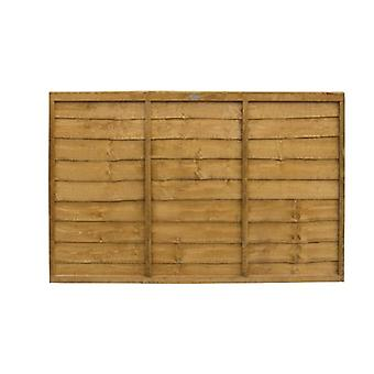 Forest Garden 4ft Lap Wooden Fence Panel