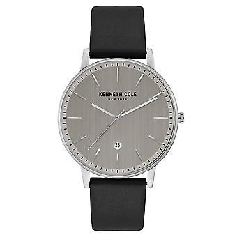 Kenneth Cole New York mäns wrist watch analoga quartz läder KC50009001