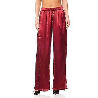 Tamaris Palazzo pants trousers short size plus size Red