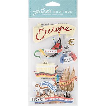 Jolee's Boutique Dimensional Stickers-Europe