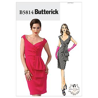 Misses' Dress-6-8-10-12-14 -*SEWING PATTERN*