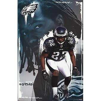 Philadelphia Eagles - Asante Samuel Poster drucken