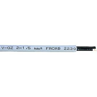 Faber Kabel YSLY-OZ Control cable 3 x 0.75 mm² Grey 030547 Sold by the metre