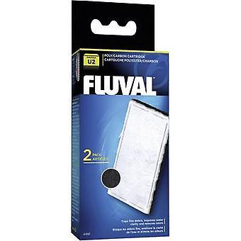 Filtro de carbono repuesto acuario Fluval A490 U2