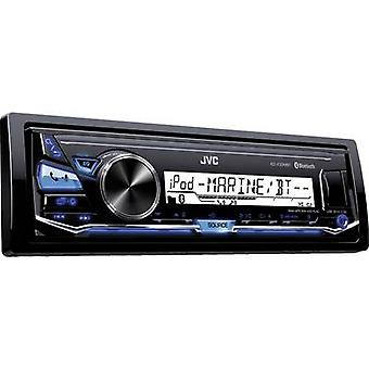 JVC KD-X33MBTE Car stereo Splashproof, Steering wheel RC button connector, Bluetooth handsfree set