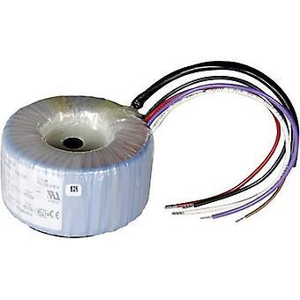 Toroidal core transformer 2 x 115 V 2 x 6 V AC 150 VA 12.50 A 825030 Sedlbauer