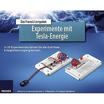 Course material Franzis Verlag Experimente mit Tesla-Energie 978-3-645-65201-8 14 years and over