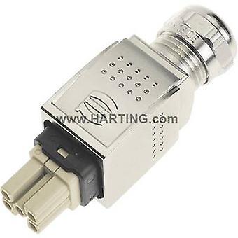 Socket inset Han® PushPull Power 09 35 232 0401 Harting 5 + PE