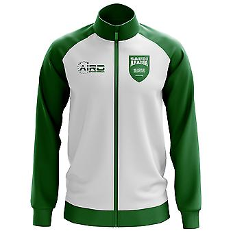Arabia Saudyjska koncepcja piłki nożnej Bluza (biały) - dla dzieci