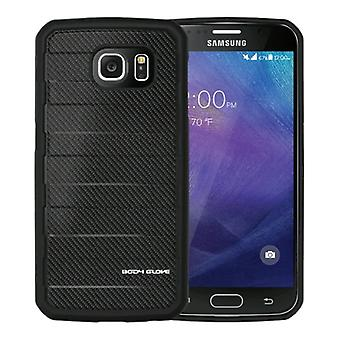 Body Glove - RISE Case for Samsung Galaxy S6 - Black Carbon Fiber