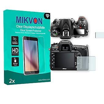 Nikon D7200 Screen Protector - Mikvon Clear (Retail Package with accessories)