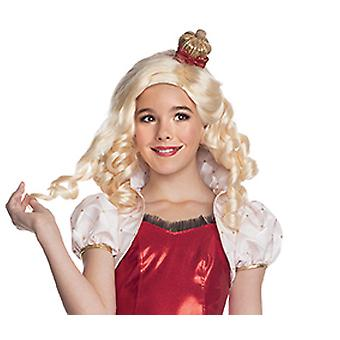 Apple white wig ever after high wig for children