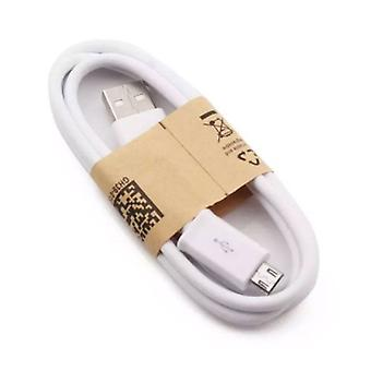 Stuff Certified ® USB 2.0 - Micro-USB Charging Cable Charger Data Cable 1 Meter Data Android White