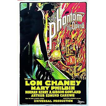 The Phantom of the Opera poster Lon Chaney (United States 1925)