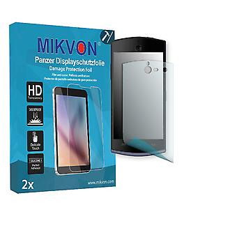 BLU Selfie Screen Protector - Mikvon Armor Screen Protector (Retail Package with accessories)