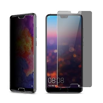 Huawei P20 look protective tank protection glass anti-spy film 9 H - 2 pieces