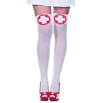 Nurse stockings accessory costume Carnival Switzerland knee-highs