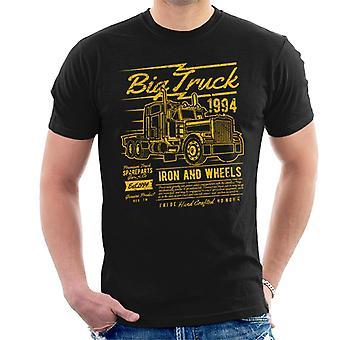 Leuke coole Vintage grote vrachtwagen mannen T-Shirt