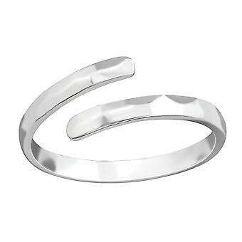 Open - 925 Sterling Zilver platte ringen - W38366x