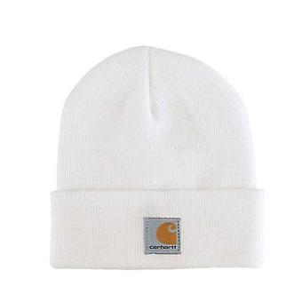 Carhartt Kids Watch Hat - Marshmallow Girls Boys Ski Hat Winter Cap