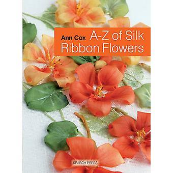 A-Z de flores de fita de seda por Ann Cox - 9781844489978 livro