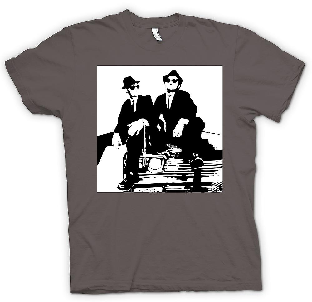 Mens t-skjorte - Blues Brothers - Pop Art