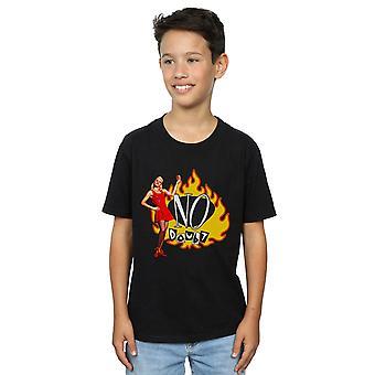 Ohne Zweifel Flammen jungen Gwen T-Shirt