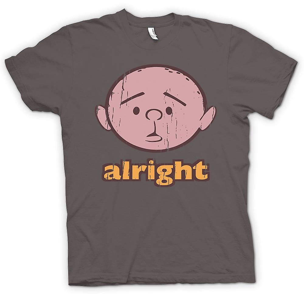 Mens T-shirt - in Ordnung - Karl Pilkington - Philosoph Genius