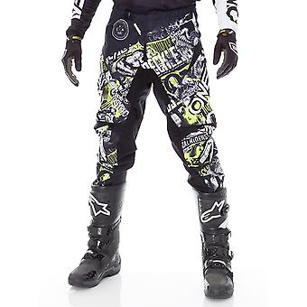 Oneal Black-Neon Yellow 2019 Element Attack MX Pant