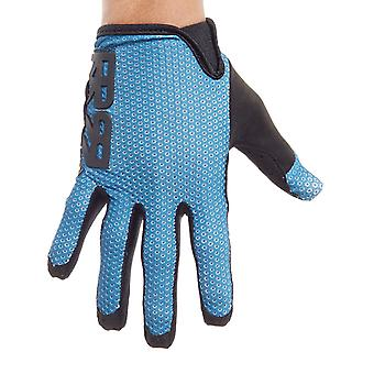 Royal Racing Blue-Black Quantum MTB Gloves