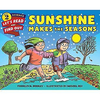 Luz do sol faz com que as estações do ano (ciência vamos-leitura-e-Find-Out 2)