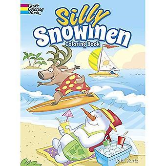 Bonhommes de neige stupides Coloring Book