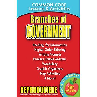 Branches of Government: Common Core Lessons & Activities