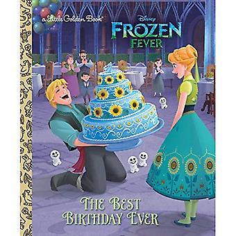 De beste verjaardag ooit (Disney Frozen) (gouden boekje)