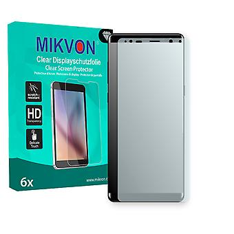 Samsung Galaxy Note 8 Screen Protector - Mikvon Clear (Retail Package with accessories) (reduced foil)