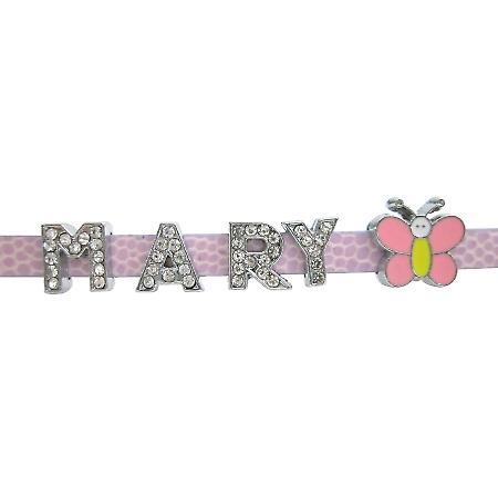 Designer Fun Butterfly Watch Strap Name Bracelets