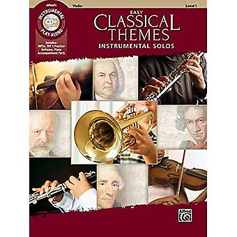 Easy Classical Themes Instrumental Solos for Strings: Violin, Book & CD� (Instrumental Solos)
