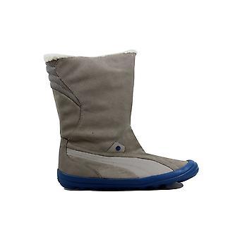 PUMA Zooney Mitte Boot Wasser String grau/tiefe Wasser Frauen 351543 01 Größe 10.5 Medium