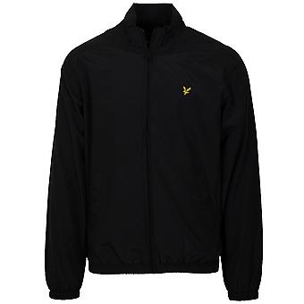 Lyle & Scott  Lyle & Scott Black Hooded Lightweight Jacket
