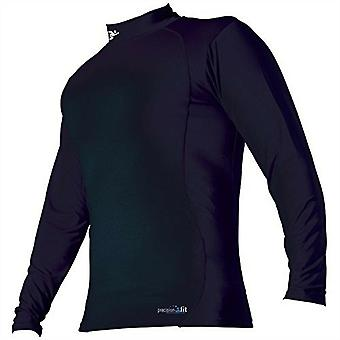 Precision Training Kids Compression Long Sleeve Baselayer Shirt Black