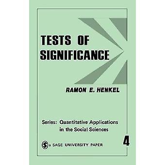 Tester av betydelse 4 av Henkel & Ramon E.
